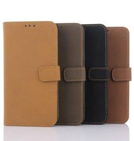 Leren Hoesje Wallet Style Samsung Galaxy S6 Mat