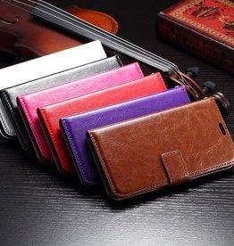 Leren Hoesje Wallet Style Samsung Galaxy S6