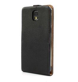 PU Leren Flip-Over voor de Samsung Galaxy Note 3