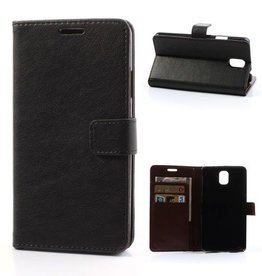Leren Wallet Samsung Galaxy Note 3