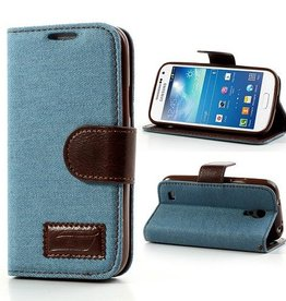 Jeans Style Wallet Samsung Galaxy S4 Mini