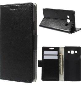 Leren Hoesje Wallet Style Samsung Galaxy A3