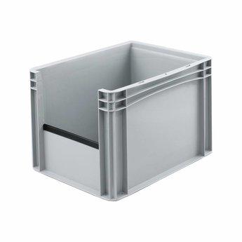 Basicline euronorm uitpakbak afm. 400x300x270 mm