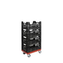 Rolling Storage System magazijnsysteem 4 bakken