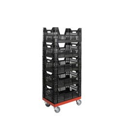 Rolling Storage System magazijnsysteem 5 bakken