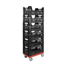 Rolling Storage System magazijnsysteem 6 bakken
