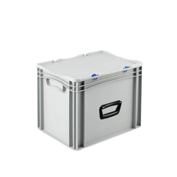Basicline koffer afm. 400x300x335 mm