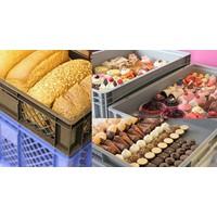 Brood-, gebak- & bonbonkratten & vaten