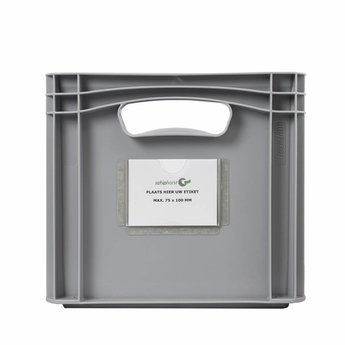 Schiphorst Etikethouder voor label 100×75 mm