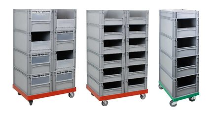 Rolling Storage Wall & Tower