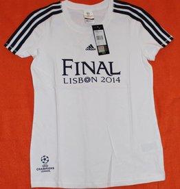 Adidas adidas T-Shirt Gr.M UCL MERCH S T W Fußballtrikot Trikot Champion Leag Weiß