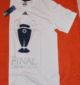 Adidas didas T-Shirt Tee Shirt UCL MERCH S T W Fußballtrikot Trikot Weiß