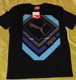 Puma PUMA Herren T-Shirt Shinjuku, Black, 819347 01