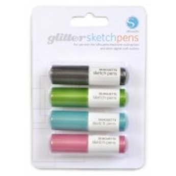 Silhouette Pack Stylos Glitter (4pcs) SILHOUETTE