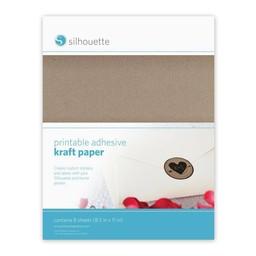 Silhouette Zelfklevend Kraft Papier