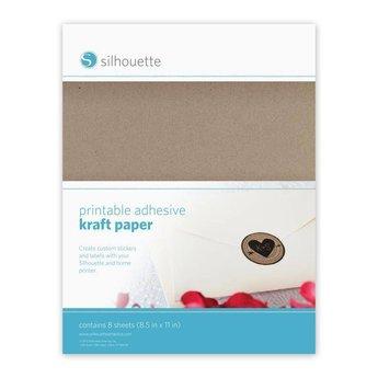 Silhouette Papier Kraft Adhésif SILHOUETTE