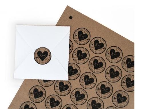 Silhouette Printable Craft Sticker Paper