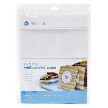 Silhouette Witte Stickervellen SILHOUETTE