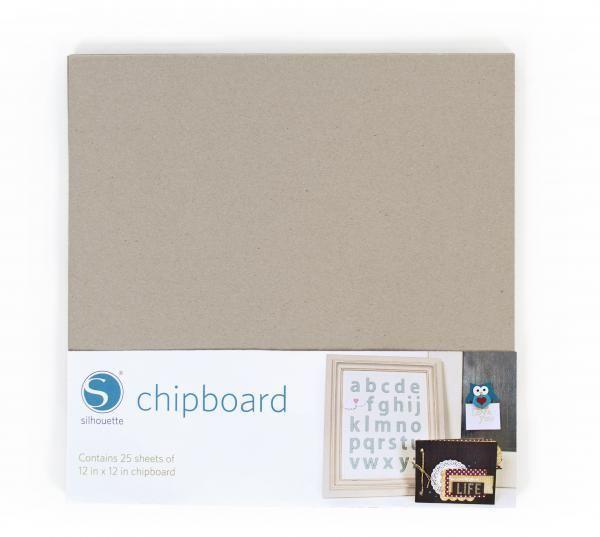 Silhouette Cartonnette Grise/ Chipboard SILHOUETTE