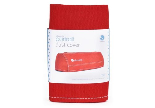 Dust cover for SILHOUETTE-PORTRAIT, Red
