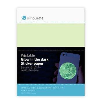 Silhouette Papier Imprimable Photoluminescent SILHOUETTE