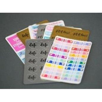 Silhouette Sticker Proefpakket SILHOUETTE
