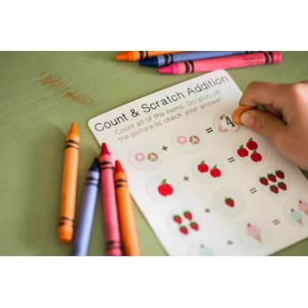 Silhouette Scratch-off Sticker Sheets - Printable