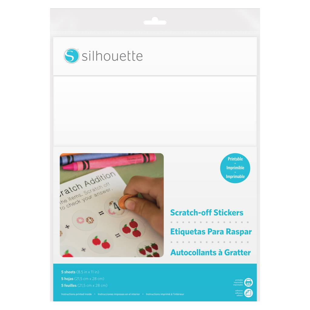Silhouette Matière Scratch Imprimable SILHOUETTE