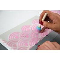 thumb-Stencil Material Sheets - Non-Adhesive (6 sheets, 21.5cm x 27.9cm)-2