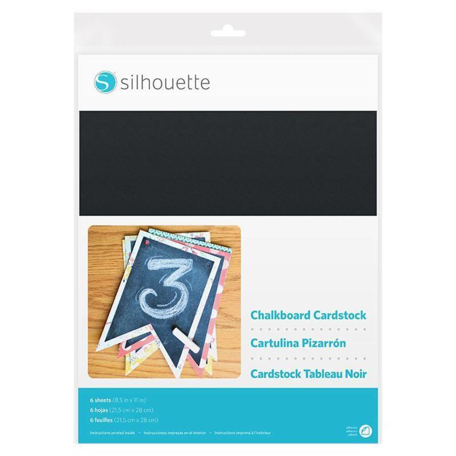 Chalkboard Cardstock - Adhesive back-1