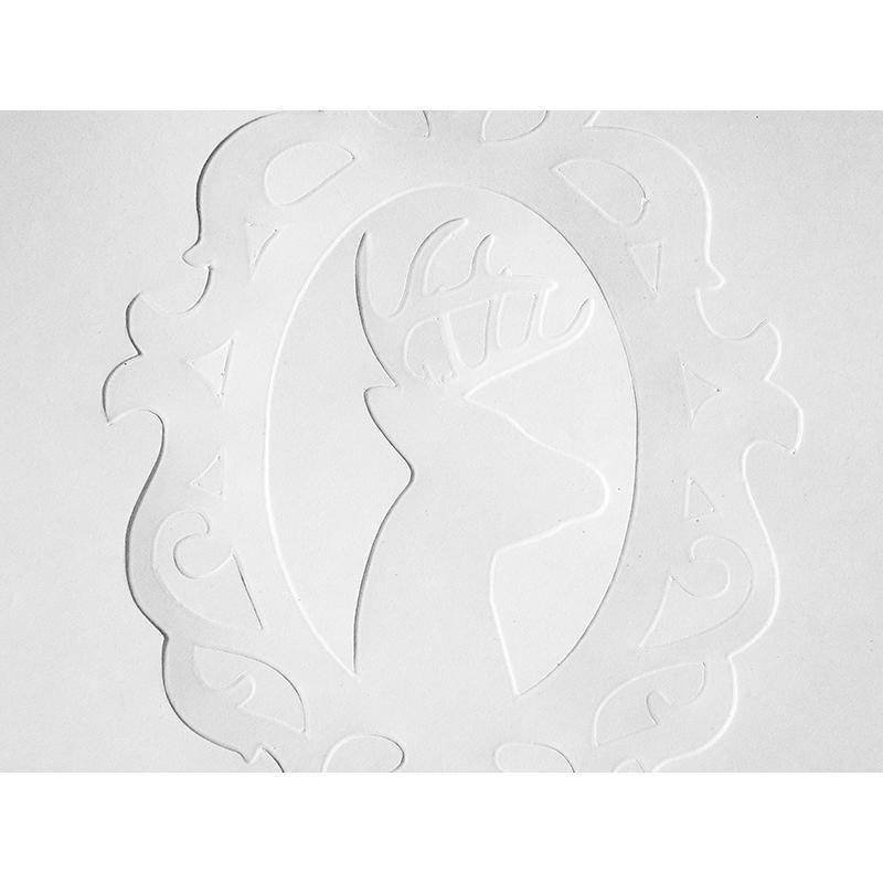 Silhouette Papier à Embosser (12,7 x 17,7cm) SILHOUETTE