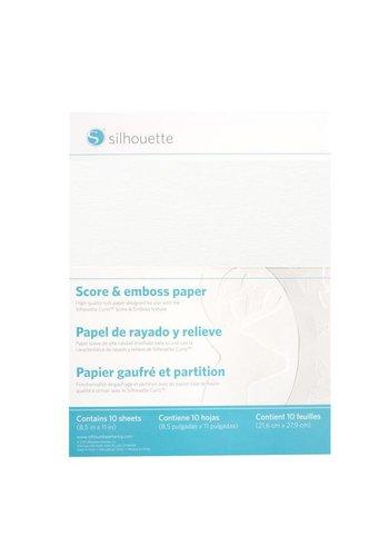 Score & Emboss Paper (10 sheets, 8.5 x 11 inch)