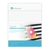 Printable Adhesive Cardstock