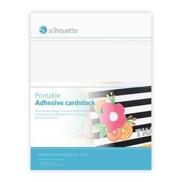 Silhouette Cardstock Adhésif Imprimable