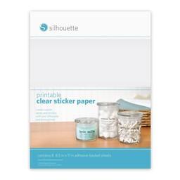 Silhouette Transparante Stickervellen