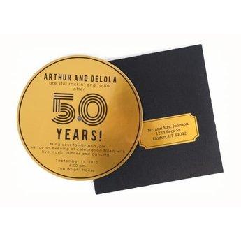 Silhouette Printable Gold Sticker Foil