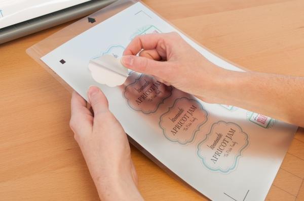 Silhouette Printable Silver Sticker Foil