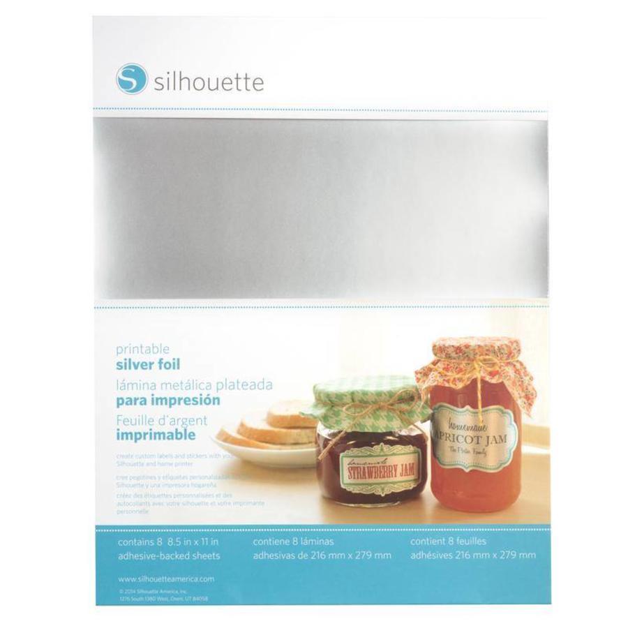 Printable Silver Sticker Foil-1