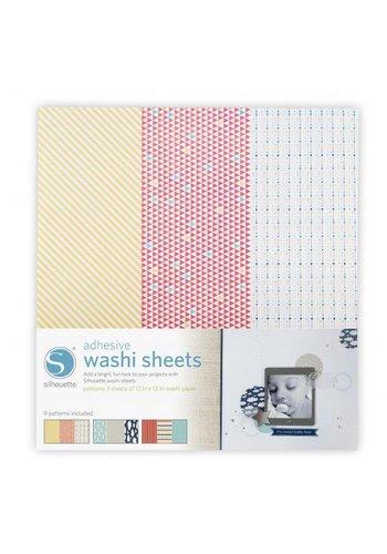 Feuilles de Papier Washi Adhésif