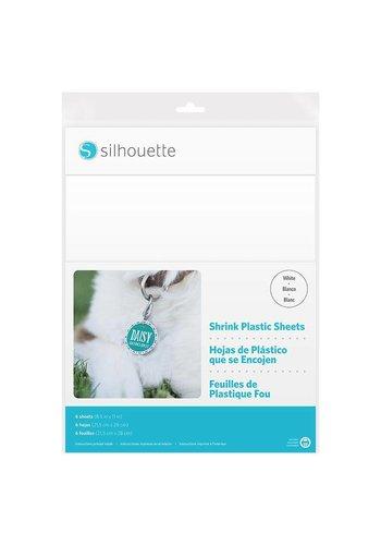 Shrink Plastic Sheets - White