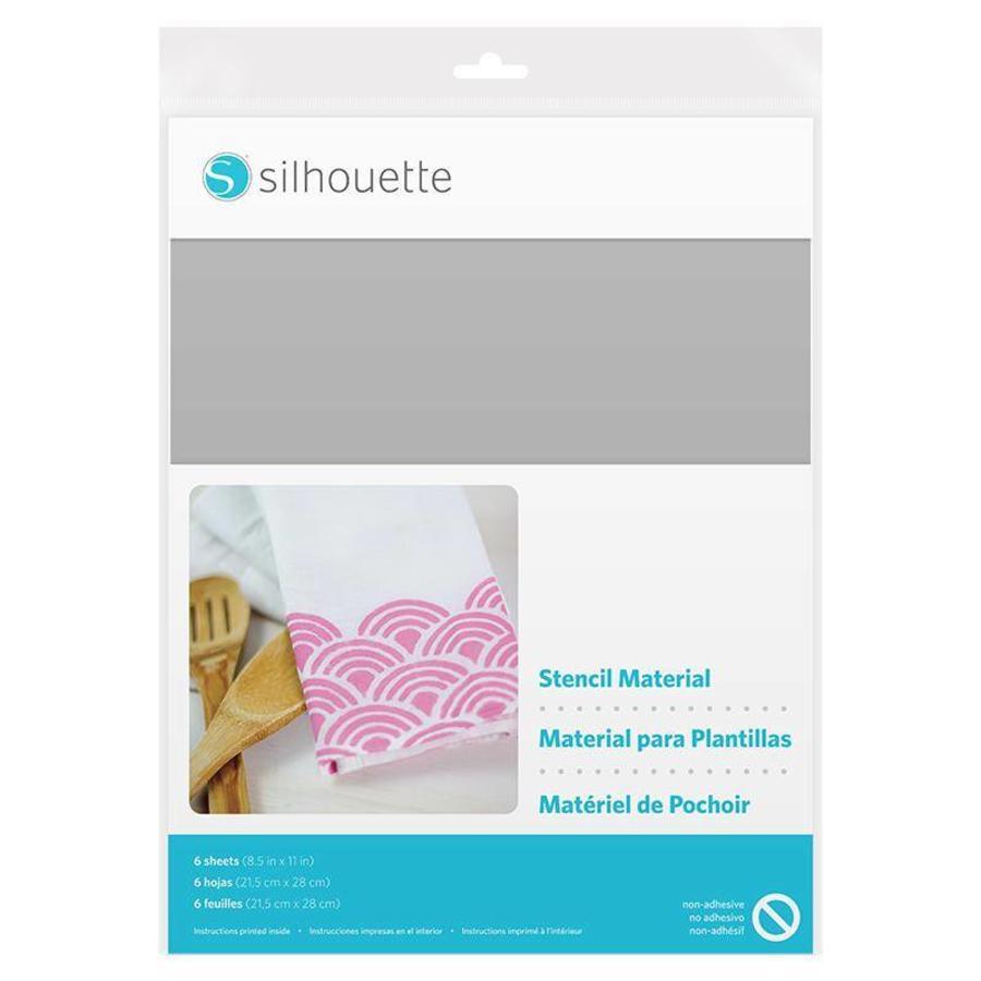 Stencil Material Sheets - Non-Adhesive (6 sheets, 21.5cm x 27.9cm)-1