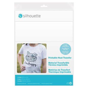 Silhouette Transfert Imprimable Tissus Clairs SILHOUETTE