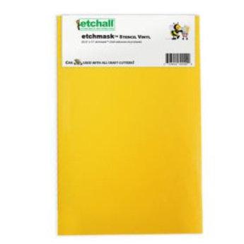 "etchall® Etchall Etchmask vinyl 9"""