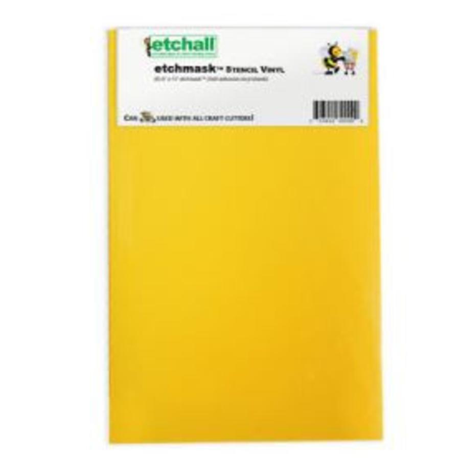 """Etchall Etchmask vinyl 9 """" - Copy"""