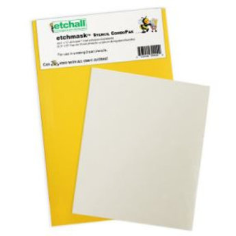 etchall® Etchall Etchmask Stencil ComboPak