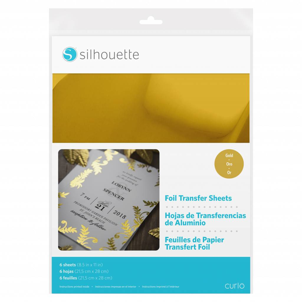 Silhouette Foil Transfer Sheets