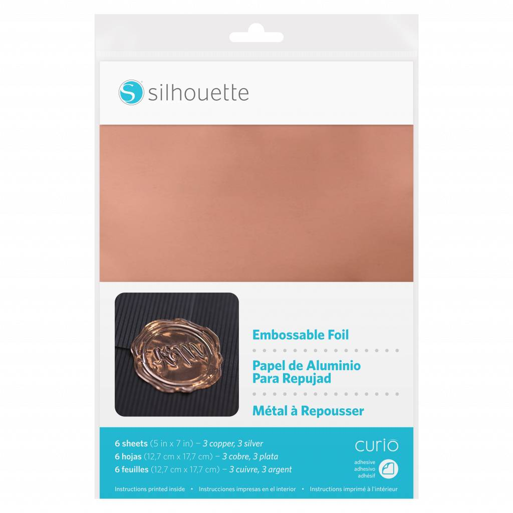 Silhouette Embosbare feuille