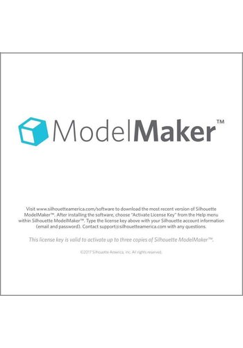 Silhouette Model Maker (downloadcode)