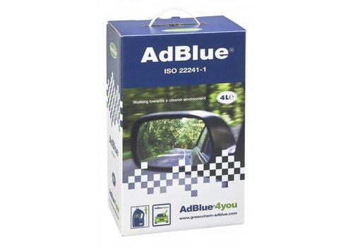 GreenChem AdBlue - Starterskit met schenk- en doseertuit, 4 lt (OUTLET)