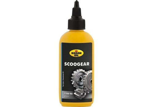Kroon Scoogear 75W-90 - Versnellingsbakolie scooter, 100 ml